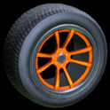 OEM wheel icon orange