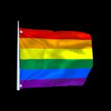Rainbow Flag antenna icon