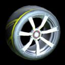 Septem wheel icon saffron