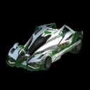 Artemis GXT body icon forest green