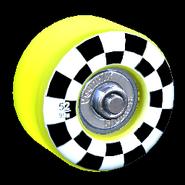 Sk8ter wheel icon saffron
