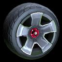 Fireplug wheel icon grey