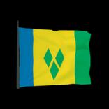 Saint Vincent antenna icon