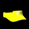 Visor topper icon saffron