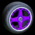 Alchemist wheel icon purple