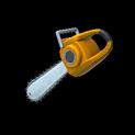 Chainsaw topper icon orange