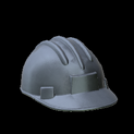 Hard hat topper icon black