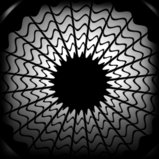 Blackwork decal icon