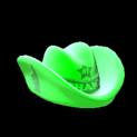 Foam hat topper icon forest green