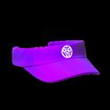 Visor topper icon purple