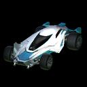 Mantis body icon sky blue