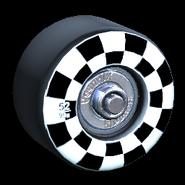 Sk8ter wheel icon black