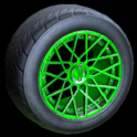 Tunica wheel icon forest green