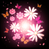 Butterflies goal explosion icon