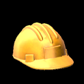 Hard hat topper icon orange