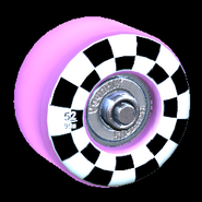 Sk8ter wheel icon pink