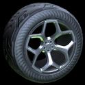 Spyder wheel icon black