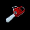 Chainsaw topper icon crimson