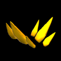 Stegosaur topper icon orange