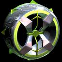 Blender wheel icon lime