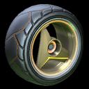 Troika wheel icon orange
