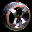 Blender wheel icon burnt sienna