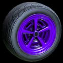 Veloce wheel icon purple