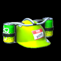 Drink helmet topper icon lime