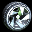 Reaper wheel icon black