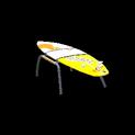 Surfboard topper icon orange