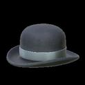 Bowler topper icon grey