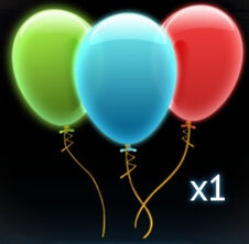 Balloon currency icon