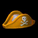 Pirates hat topper icon orange