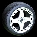 Alchemist wheel icon titanium white