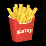 Salty Fries topper icon