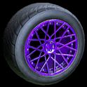 Tunica wheel icon purple