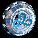 Usurper Holographic Cloud9 wheel icon