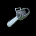 Chainsaw topper icon grey