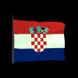 Croatia antenna icon