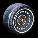 Spiralis wheel icon titanium white