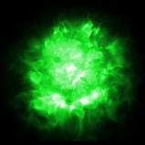 Flamethrower Green rocket boost icon