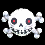 Fuzzy Skull antenna icon