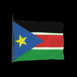 South Sudan antenna icon