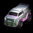 Merc body icon pink