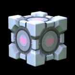 Portal - Companion Cube antenna icon
