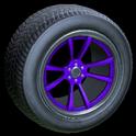 OEM wheel icon purple