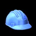 Hard hat topper icon cobalt