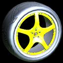 Yuzo wheel icon saffron