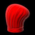 Chefs hat topper icon crimson