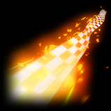 Chequered Flag rocket boost icon